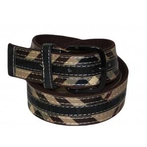 Jugo Boots® Cinto de Hombre Casual Negro/Café