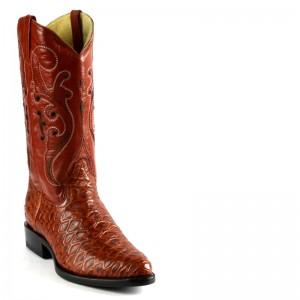 JUGO Boots® Bota de Hombre Vaquera Oso Hormiguero Shedron Oval