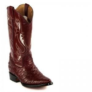 JUGO Boots® 1412 Bota de Hombre Vaquera Oso Hormiguero Vino Puntal