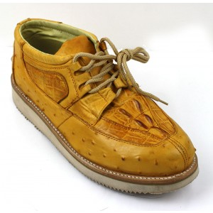 Men's Exotic Shoes Butter Mil Rayas