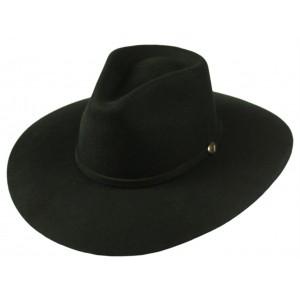 Jugo Hats® Tejana de Hombre Cholo Negro 300X
